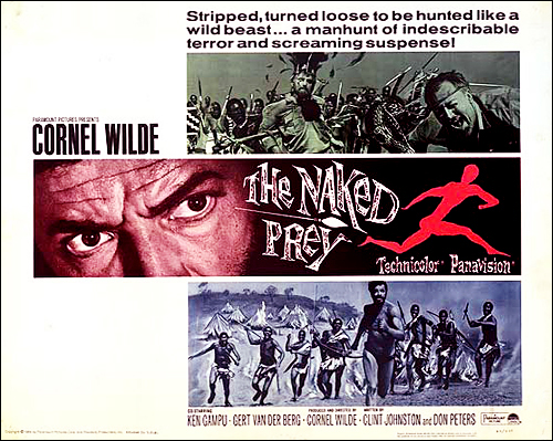 The Naked Prey - 1966 - DVD